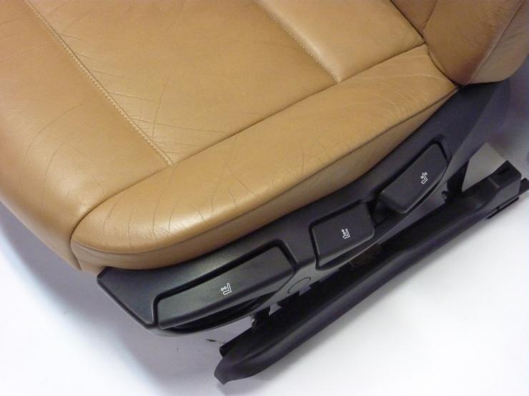 bmw e46 limo ledersitze lederausstattung leder sitze braun komplett naturbraun ebay. Black Bedroom Furniture Sets. Home Design Ideas